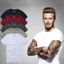 Мужские футболки наивысшего качества, модные футболки 2018 с коротким рукавом из 100% хлопка, летние брендовые рубашки, повседневные мужские топы и футболки, одежда