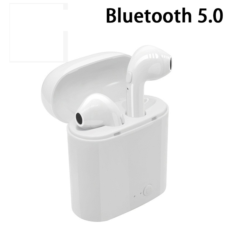 Mini Bluetooth Kopfhörer 5,0 i7 TWS Drahtlose Ohrhörer für Iphone X XR XS Samsung S8 S9 Hinweis 10 Plus Xiaomi huawei Telefon Kopfhörer