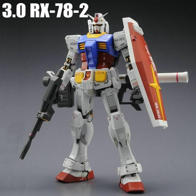 DABAN Gundam MG 1/100 RX-78-2 Ver.3.0 figurines danime robot figurines figurines figurines modèle dassemblage de jouets