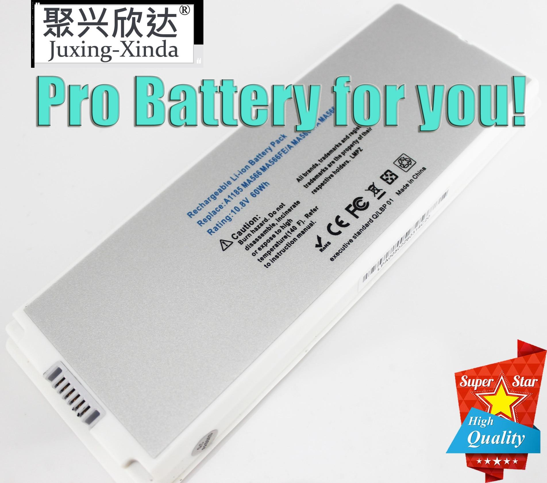 """A1185 bateria do portátil para apple macbook 13 """"a1181 (2006 2007 2008 2009) ma566 ma561 ma566fe/a ma566g/a ma566j/a ma472 ma472 */a"""