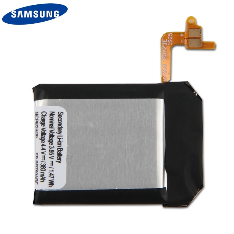 Original Replacement Battery EB-BR760ABE For Samsung Gear S3 SM-R760 SM-R770 SM-R765 Authentic Rechargeable Battery 380mAh enlarge