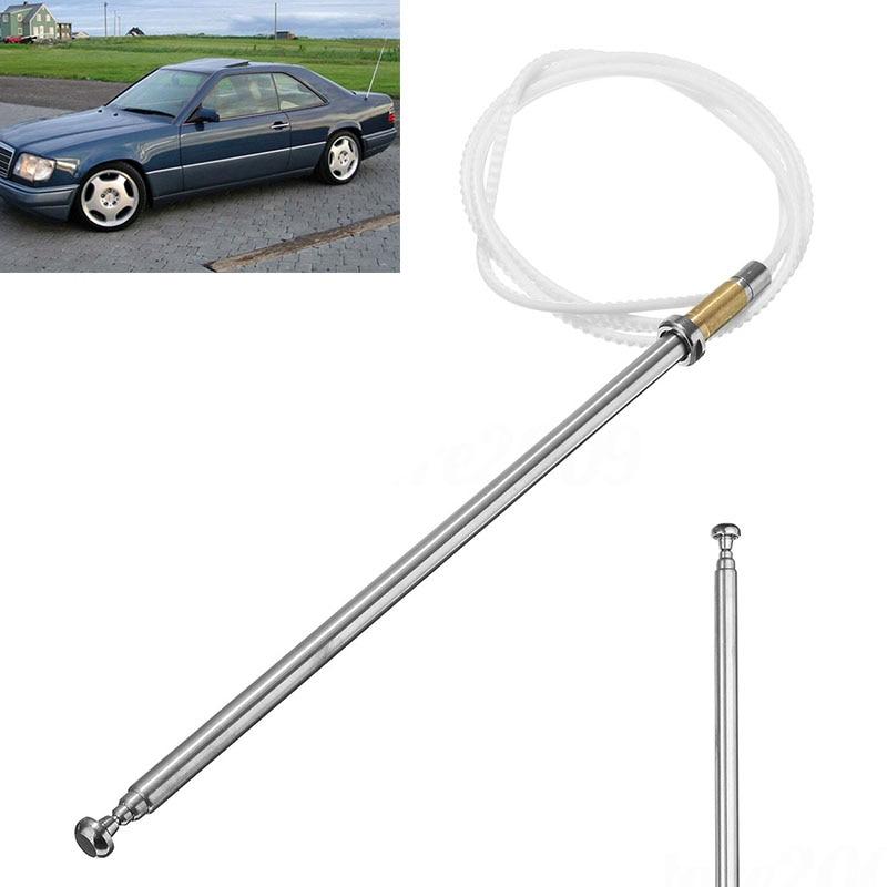 Antena de alimentación para coche, antena de mástil, antenas AM FM, antena de mástil para Mercedes Benz W124 W126 W201 C107 R107