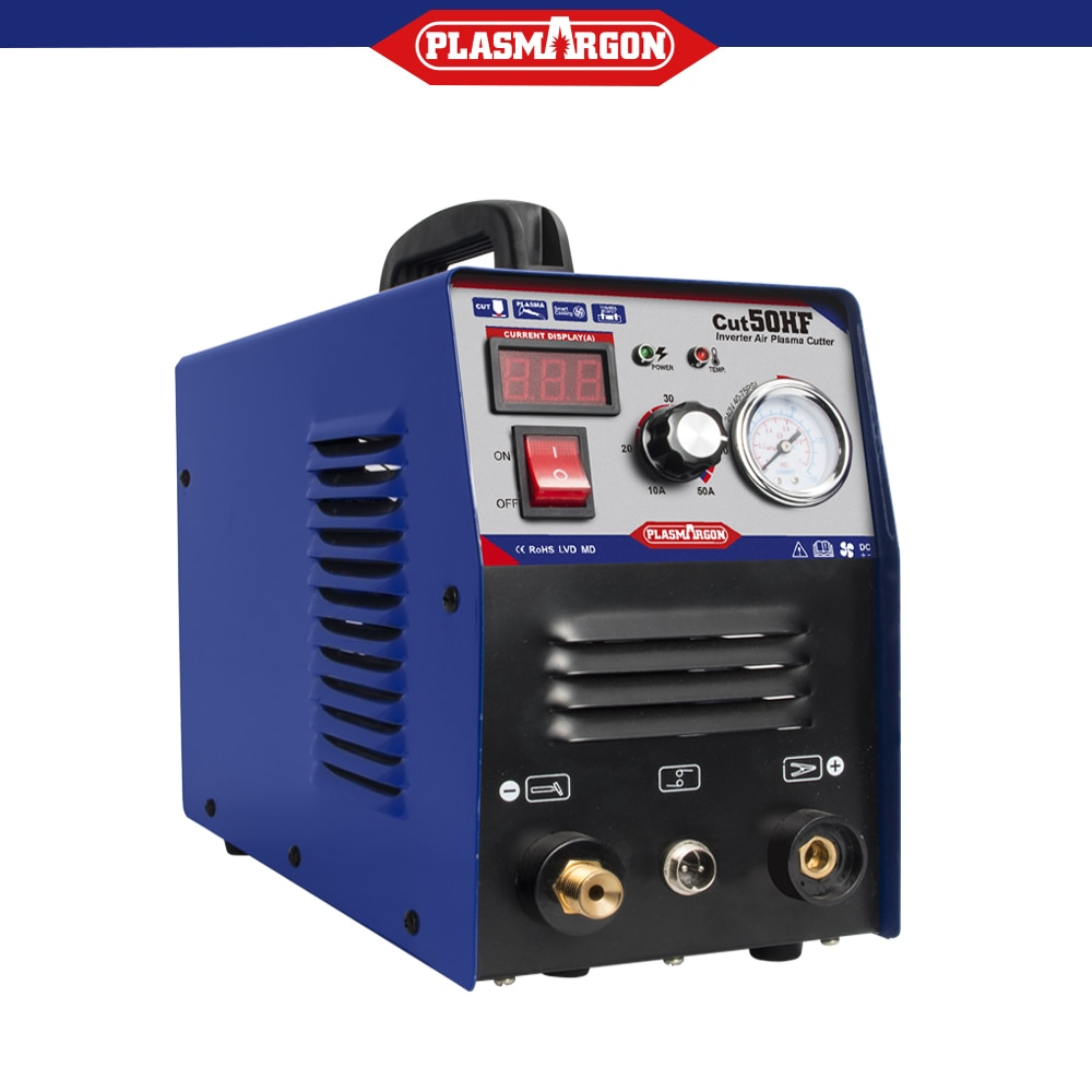 Household Inverter Cut50 Air Plasma Cutter Machine 50A Dual Voltage 110/220V with Free Accessories