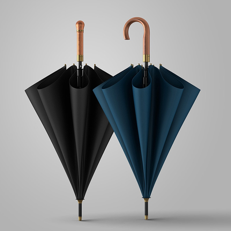 Luxury Long Handle Umbrella Waterproof Travel Large Business Windproof Umbrella Mountaineering Guarda Chuva Home Products DG50YS enlarge