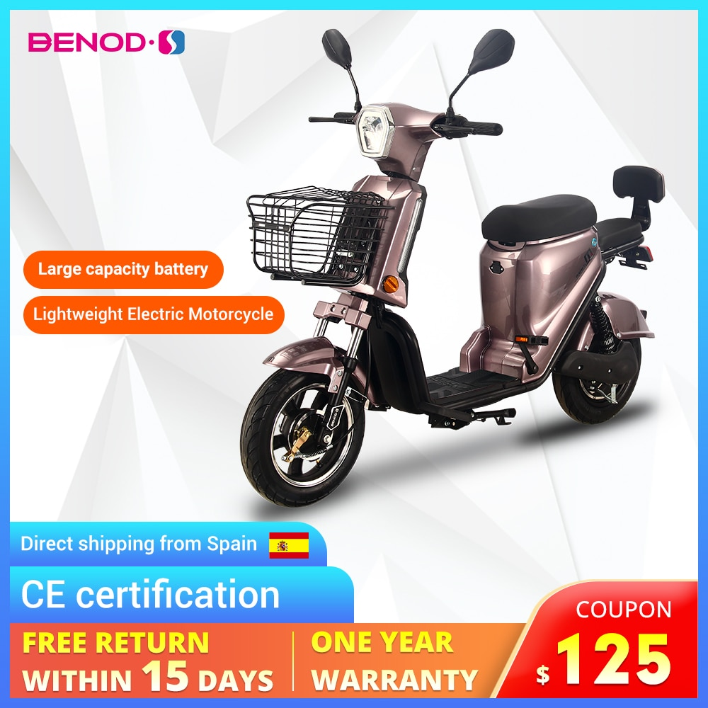 Motor eléctrico para motocicleta CE Cert, ciclomotor rápido de alta potencia, EU...