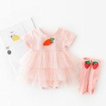 Yg brand children's clothing 2021 summer new 1st Birthday Dress For Baby Girl Cute  Baby Girl Dress