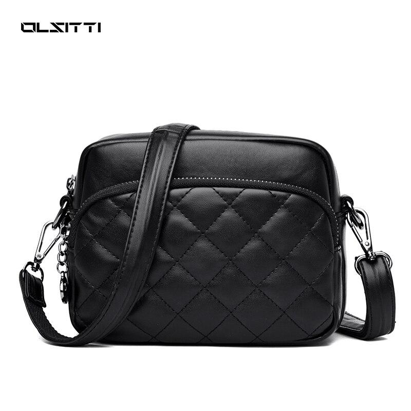 OLSITTI New Women's Handbags Luxury Designer Leather Shoulder Bags for Women 2021 Female Purses Soci