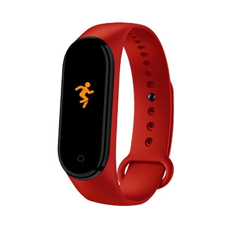 M4 smart bracelet Men Women Heart Rate Blood Pressure Monitor color screen heart rate blood pressure IP67 waterproof