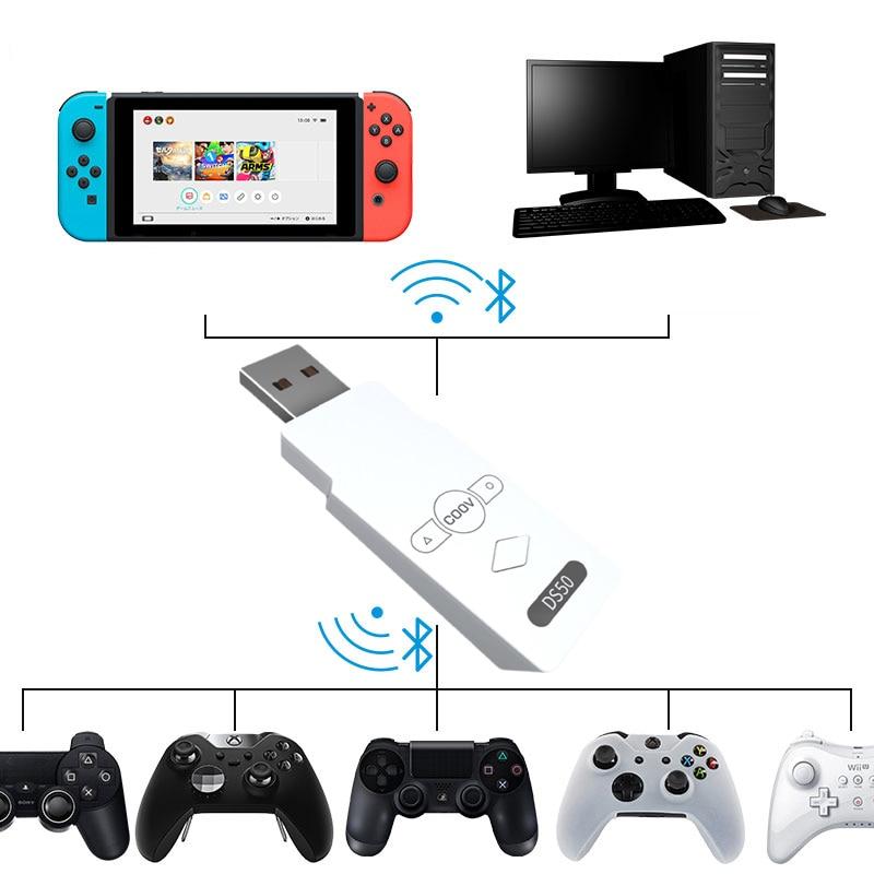 Receptor de Bluetooth para PS5/PS4 x-box One Pc Gamecube, convertidor de adaptador...