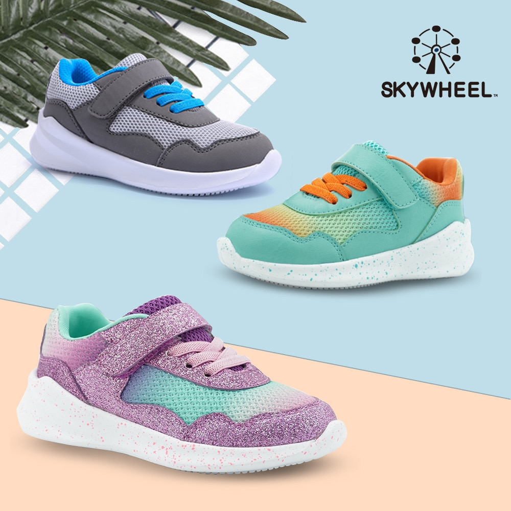 Boys Girls Tennis Sneakers Children Shoes Lightweight Breathable Running Athletic Sports Sneakers Fo