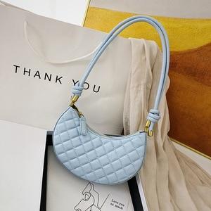 Summer New Baguette Bags For Women 2020 PU Leather Female Shoulder Bag Sac A Main Femme Luxury Handbags Women Designer Bag
