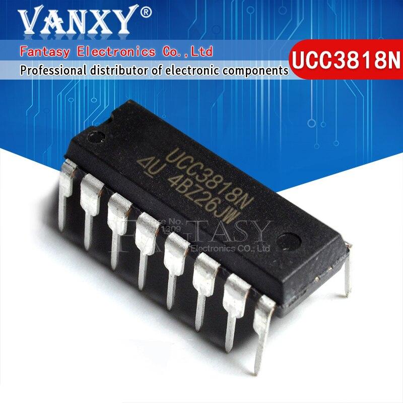 10pcs UCC3818N DIP-16 UCC3818 DIP16 UC3818N DIP 새로운 원본