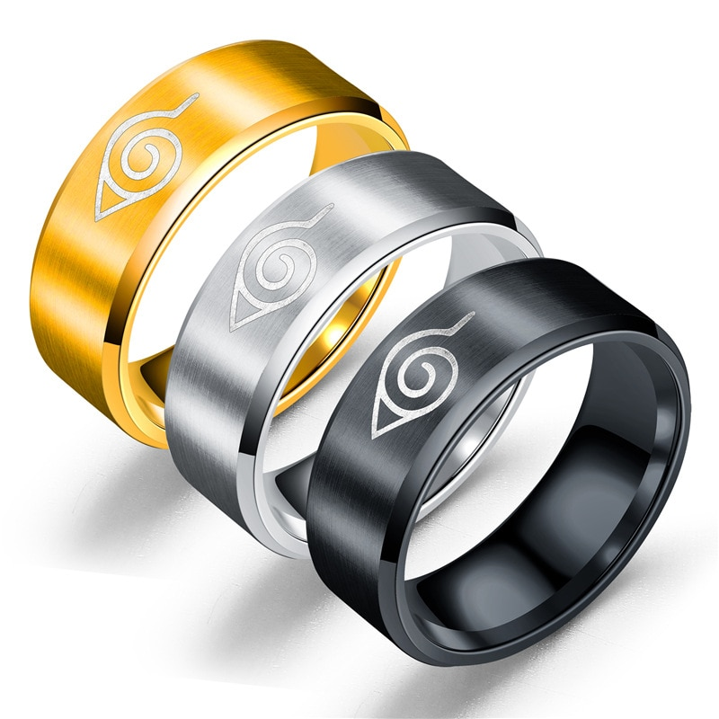 Аниме Кольца из нержавейки кольцо подогреватели руку для костюмированной вечеринки