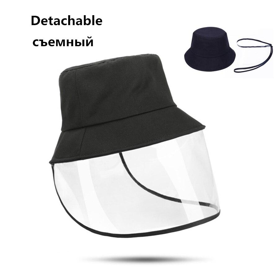 Sombrero de Panamá antiniebla de protección, gorros de cubo a prueba de polvo de Corea Unisex, gorras de protección solar antiviento para hombres y mujeres, gorra de pescador antipolvo