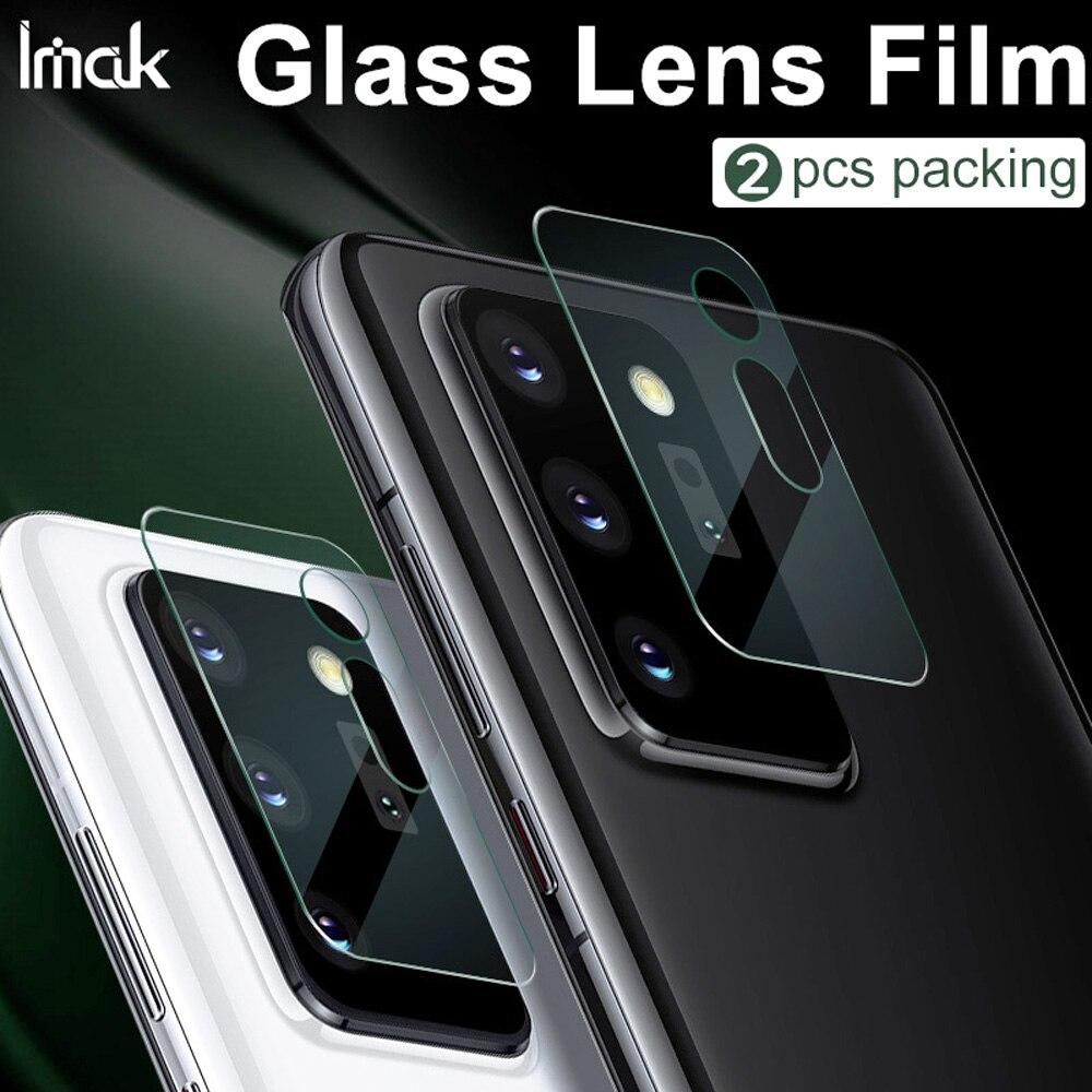 Imak câmera lente filme para samsung galaxy note 20 ultra câmera traseira len vidro temperado protetor de proteção