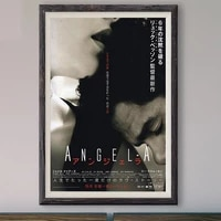 M012     affiche en soie personnalisee  film de mode classique  angle-a  2005   decoration murale  cadeau de noel
