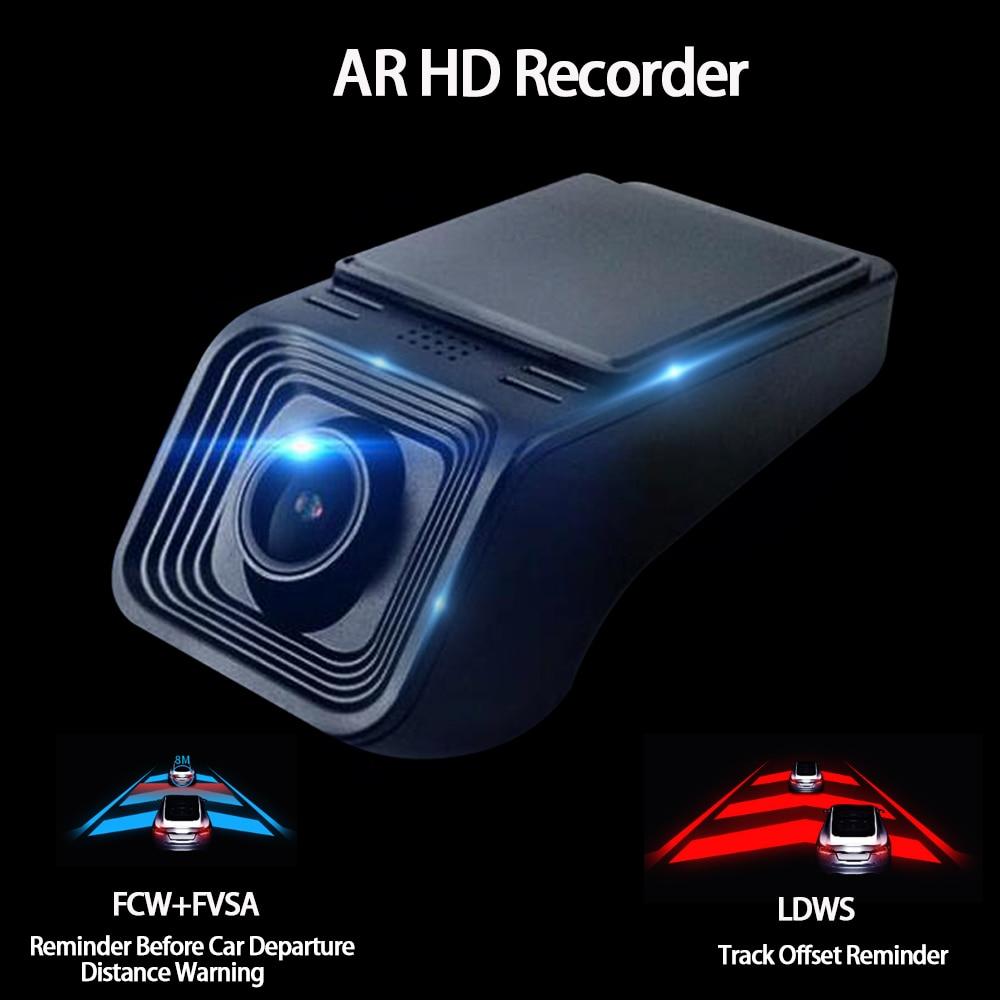 OKNAVI Car Dvr Camera Usb for Multimedia Android Full HD 1080P ADAS Dash Cam Video Recorder Night Vision for Player Navigation
