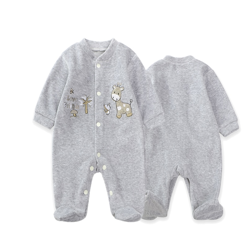 patpat 2020 spring and autumn new baby dinosaur print long sleeves 0 1 years jumpsuit one pieces baby boy clothes Spring And Autumn Baby Rompers Newborn Baby Clothes For Girls Boys Long Sleeve cotton Jumpsuit Baby Clothing boy Kids Outfits
