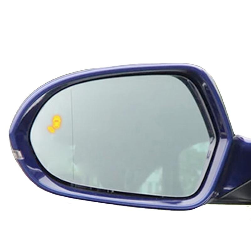 A6 C7 سيارة العمياء 24GHZ الرادار وقوف السيارات نظام الاستشعار كشف LED القيادة الأمن تحذير لأودي