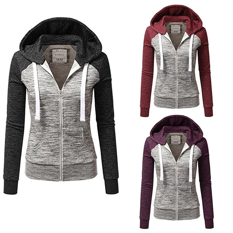 New Arrive Quick-dry Women Sport Jacket Long-sleeved Running Gym Sweatshirt Fitness Zipper Jacket Outerwear