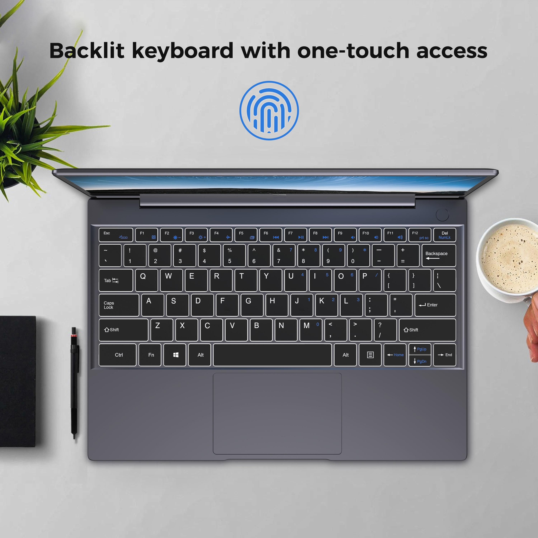 2019 XIDU Tour Pro Laptop Touchscreen Notebook 8GB DDR3 Tablet 2K IPS Screen Laptop PC Backlit Keyboard Notebook Fingerprint
