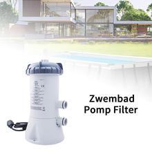 1 Juego de filtro de Bomba de piscina, Kit de limpieza de agua para piscinas de verano, Bomba de piscina de natación de larga vida útil y Kit de filtro, accesorios para Bomba de piscina