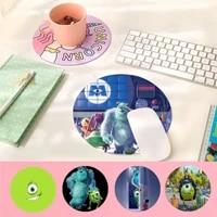 disney monsters inc rubber mouse durable desktop mousepad%c2%a0 computer desk mat for gaming
