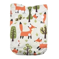 reusable breathable baby girl pocket cloth diaper cover
