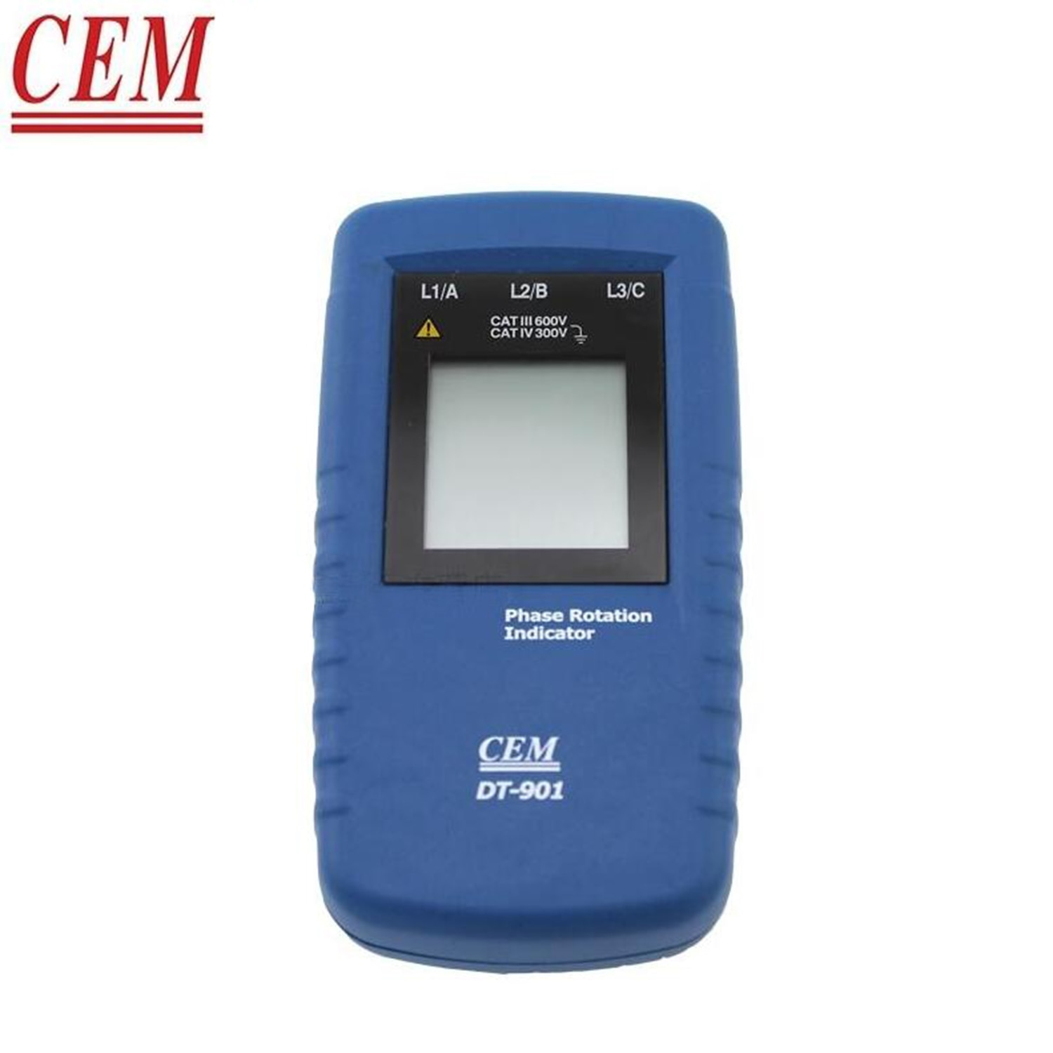 CEM DT-901 Phase Rotation Indicator Three-Phase Electric Alternating Current Phase Detector Phase Sequence Steering Indicator.