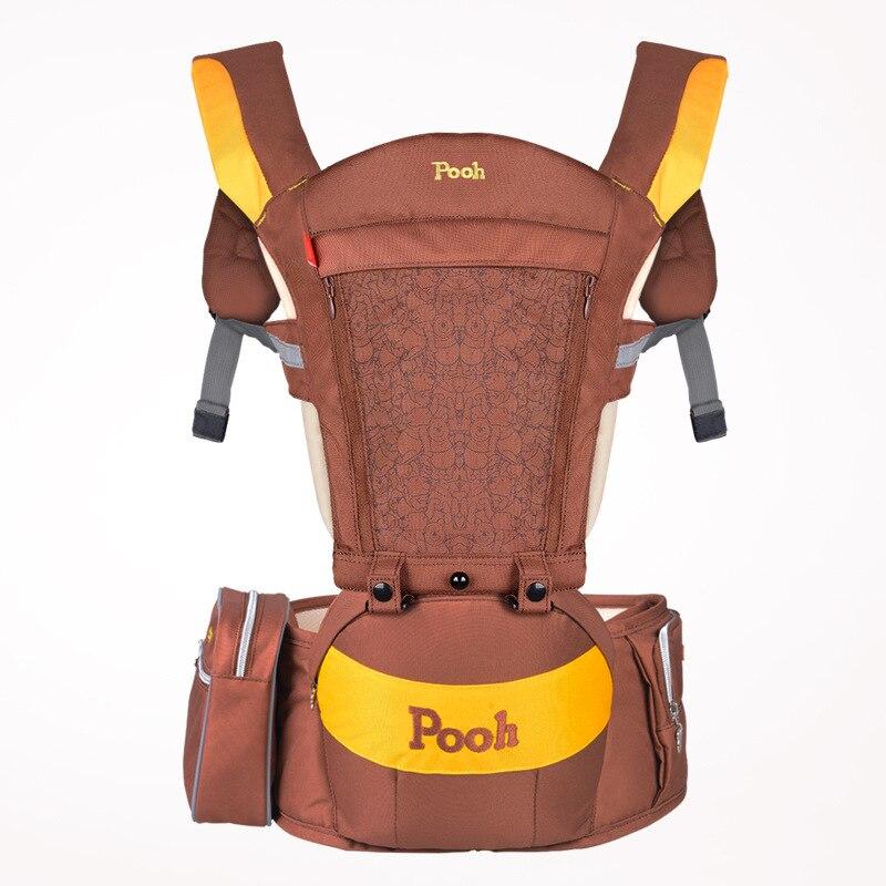 0-36 mois respirant ergonomique porte-bébé sac à dos Mickey Minnie Portable bébé Hipseat tas bébé écharpe de transport