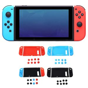 11 in 1 Protective Sink Cover Case Cap Set Soft Silicone Shockproof Anti-Wear Replacement for nintendo switch Console NS