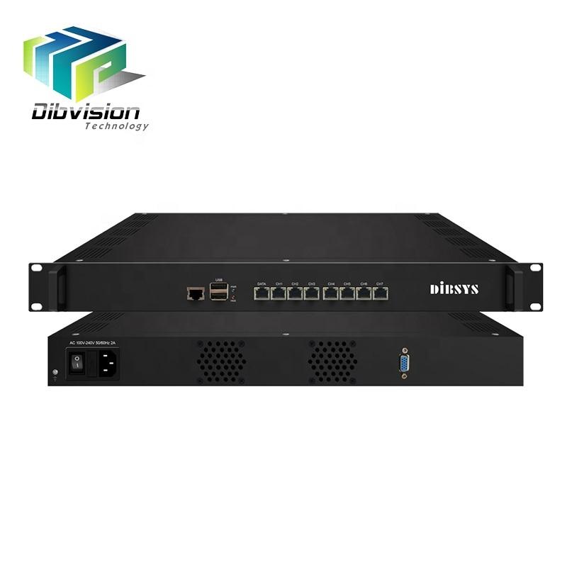 80 قناة UDP إلى HLS/HTTP/RTMP/RTSP/UDP IPTV بوابة