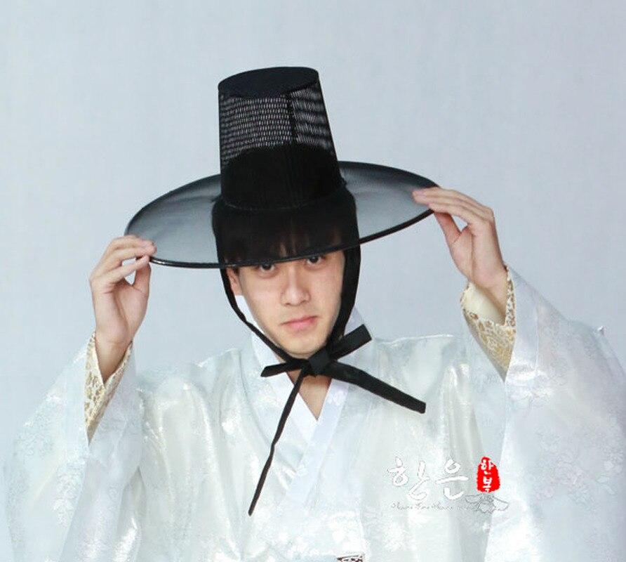 كوريا الجنوبية المستوردة الرجال القديمة العادية صافي قبعة He-m3027 Scrunchie ل صبي الشعر اكسسوارات