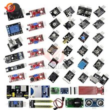 45 in 1 Sensor Module Starter Kit for Arduino UNO R3 MEGA2560 DIY Kit Education experiment Temperature sensor Hall sensor module