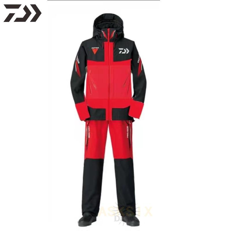 Daiwa Fishing Clothing GORE-TEX Outdoor Wear Waterproof Windproof  Fishing Jacket Fishing Pants Men Breathable Fishing Suit Set