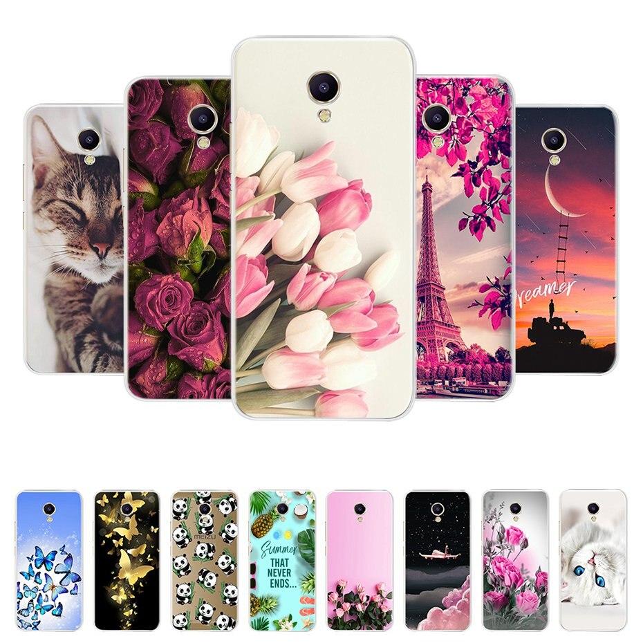For Meizu M5 M3 Note Case Cover Soft TPU Capas Back Cover For Meizu M3 M3S M5 A5 M5C M5S Mini Phone