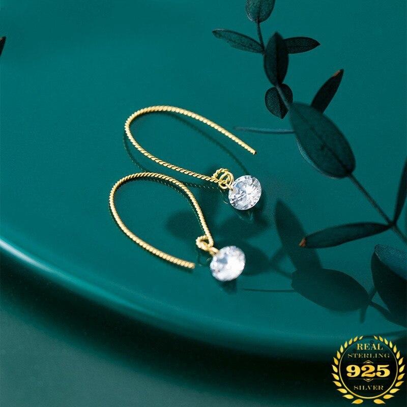 A00140 jazaz 925 prata esterlina nobre banhado a ouro redondo pérola brincos para festa de casamento japonês coreano