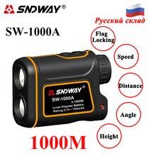 Télémètre Laser SNDWAY 600/1000M télémètre Laser 7X télescope monoculaire pour la chasse télémètre laser télémètre Distance