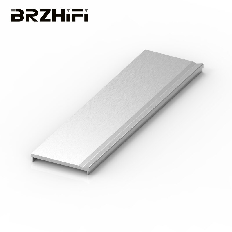 BRZHIFI جانب الألومنيوم المخصص النتوء مكبر كهربائي اللوحة الأمامية الأجهزة الضميمة