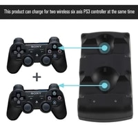 2 in 1 dual charging dock charger for sony playstation3 wireless controller for ps3 controller hot worldwide for ps3 charger