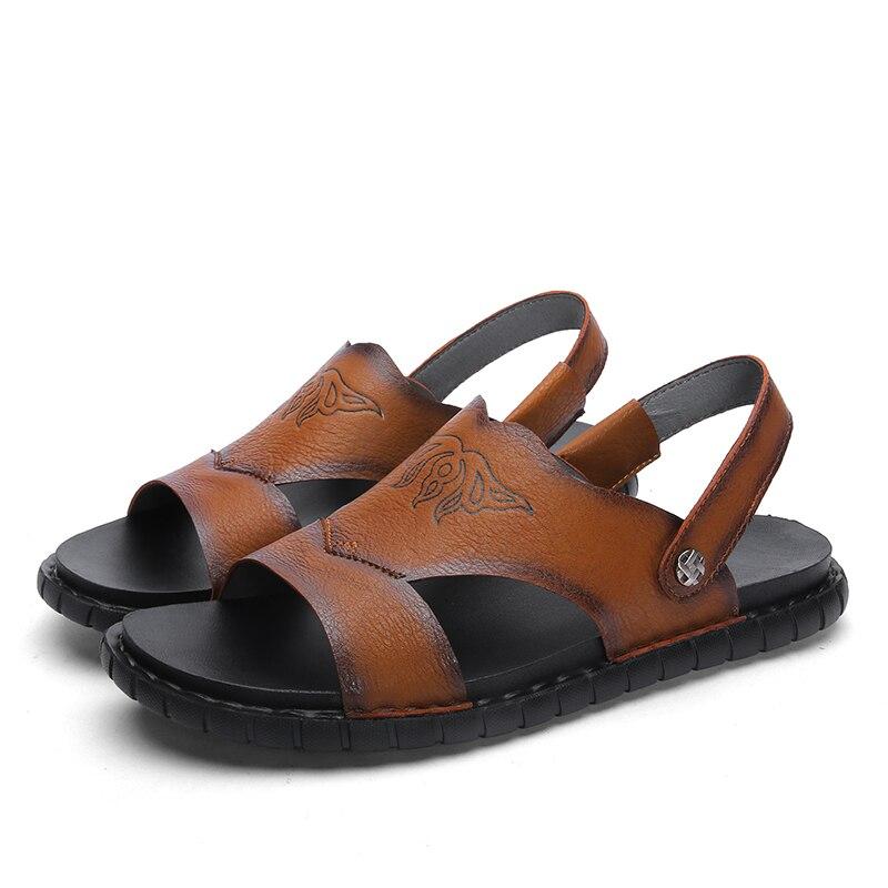 Sandalia de deporte de montaña zapatos de verano en samool s geta sandalet de mar vestido grande sandalia 39 masculina sandalia de exterior