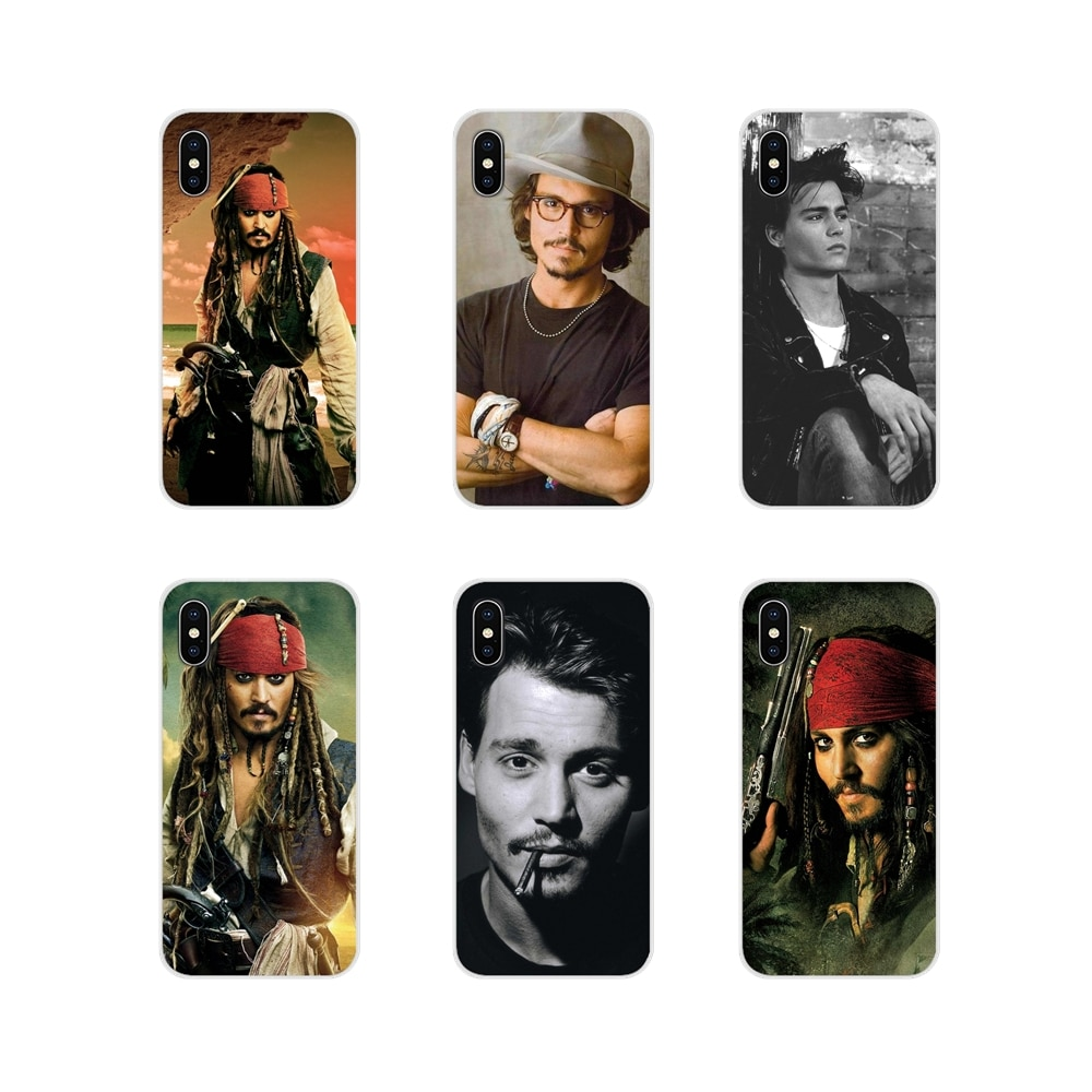 For Samsung Galaxy A3 A5 A7 A9 A8 Star A6 Plus 2018 2015 2016 2017 Accessories Phone Cases Covers johnny depp