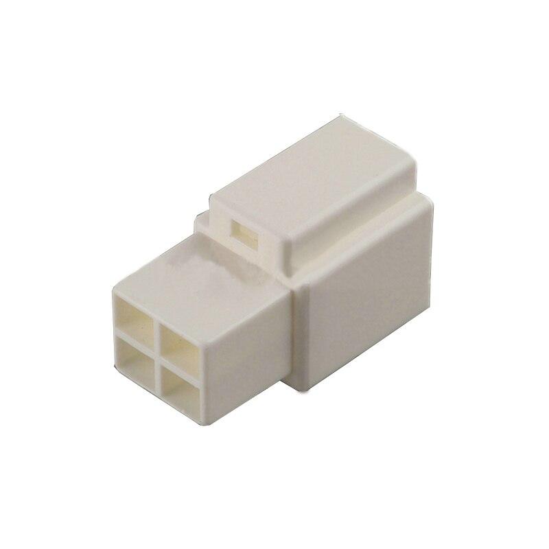 5/10/20/50/100sets 4pin السيارات الكهربائية البلاستيك الإسكان التوصيل كابل مد التوصيلات السلكية موصل غير مختومة
