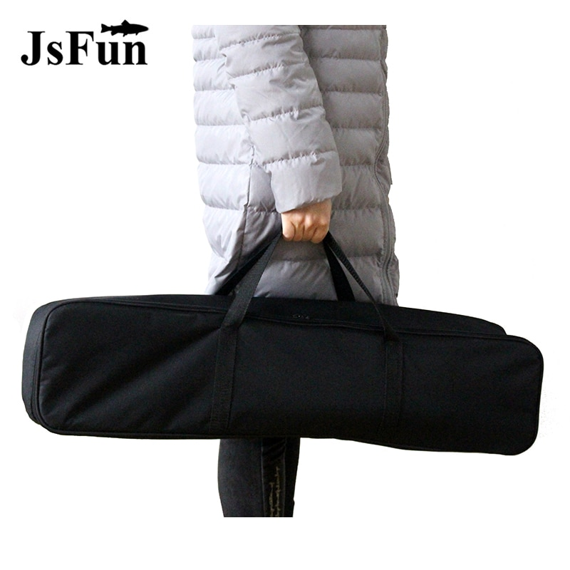 Bolsa de pesca multifuncional, mochila de pesca portátil, soporte para caña, caja de almacenamiento exterior, aparejos de pesca PJ219
