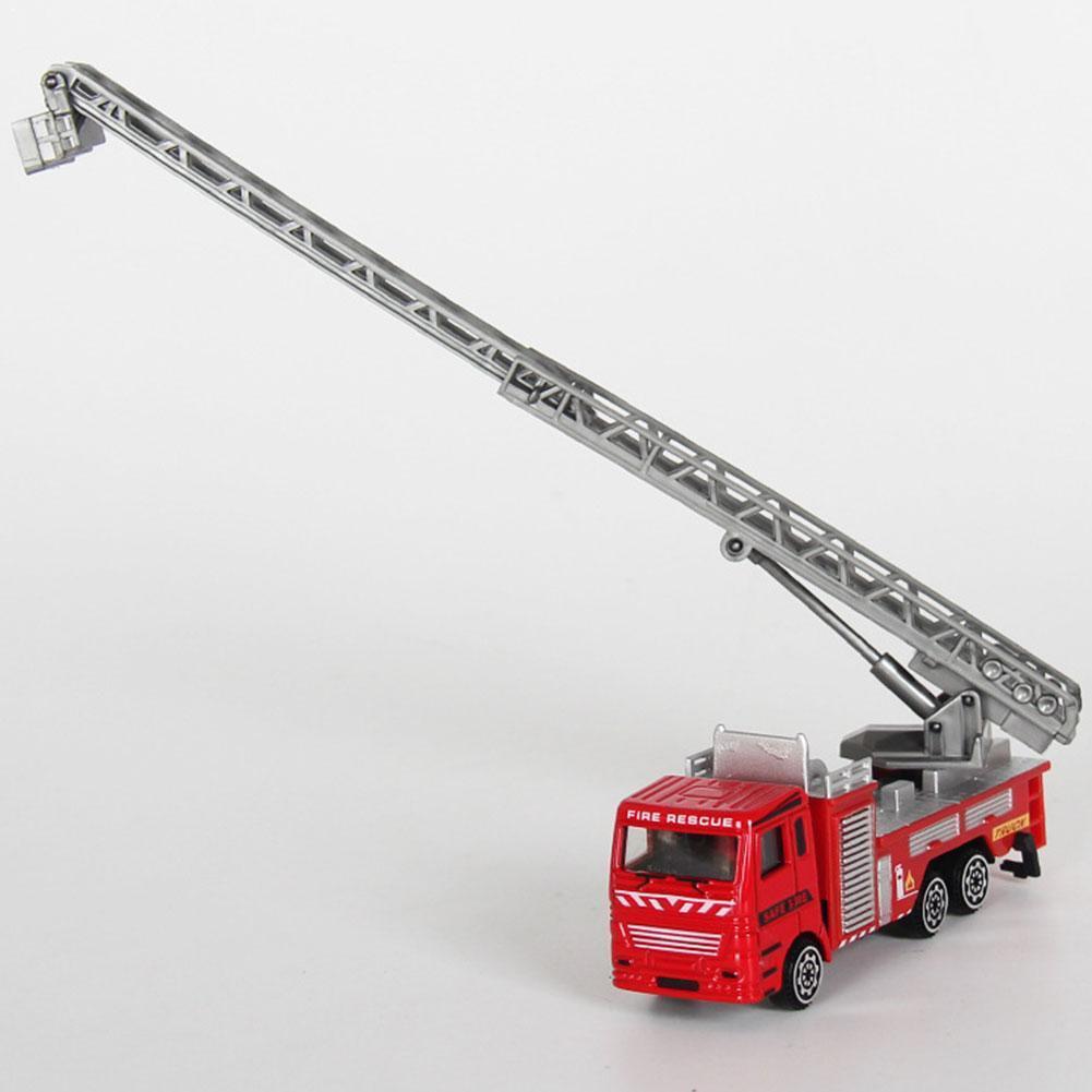 Новый детский игрушечный автомобиль пожарный грузовик Juguetes Пожарный Сэм обучающий крутой грузовик для мальчиков игрушечный автомобиль X1Y8