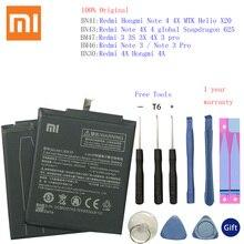 BN30 BN41 BN43 BM46 BM47 Battery For Xiaomi Redmi Hongmi 4A 3S 3X 3 pro Note 3 4 4X MTK Helio X20 global Snapdragon 625 Bateria