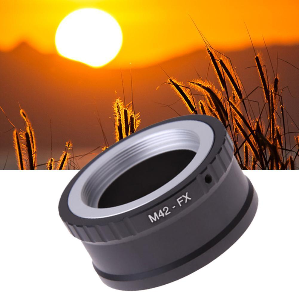 M42 Lens to Fujifilm X Mount Fuji X-Pro1 X-M1 X-E1 M42-FX Adapter Ring X-E2 S9V7 lr fx leica r lens to fujifilm x pro1 mount adapter black