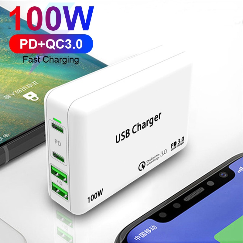 100w-multi-quick-charger-pd-type-c-usb-charger-for-macbook-pro-iphone-11-huawei-tablet-qc-3-0-wall-charger-us-eu-uk-plug-adapter