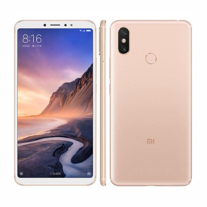 Xiaomi Mi Max 3 6.9 inch 4G RAM 64GB ROM Fingerprint 4G Android Smart Phone Unlocked Qualcomm Snapdragon 652