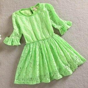 Toddler Girls Casual Beach Dress Summer Little Girls Half Sleeve Dress Cotton Kids Beauty and Short Costume Dress for Girls 2-5Y